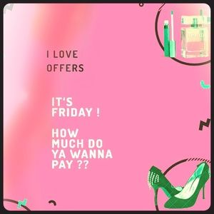 Friendly Friday ! 😋Reasonable offers Accepted